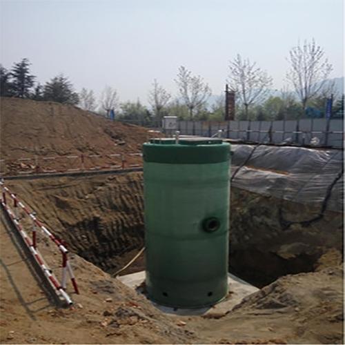 南昌一体化预制供水泵站
